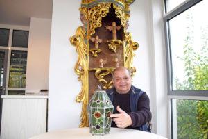 ROTOUR Rothenburg: Harald Stephan mit Bleiampel