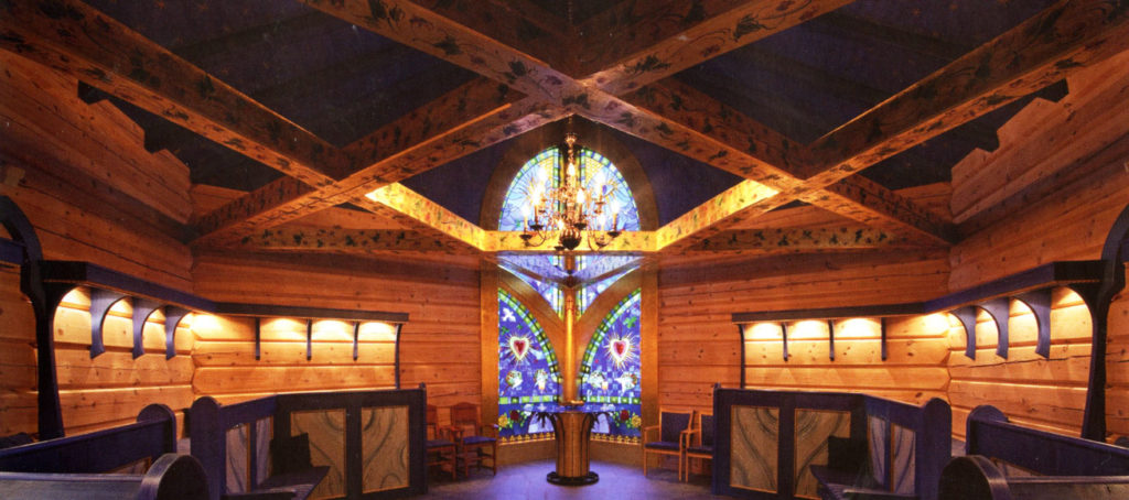ROTOUR Rothenburg: Glaskunstfachmann Harald Stephans Kirchenglasfenster in Norwegen
