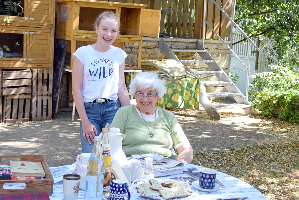 Gudrun Schammann plädiert mit 84 Jahren für starke Gemeinschaft unter den Menschen. Foto: ul