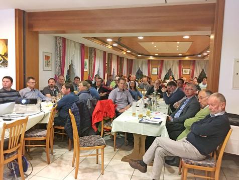 """Eine der ersten Sitzungen in der ILE-Region """"Rothenburger Land"""" im Mai 2014."""