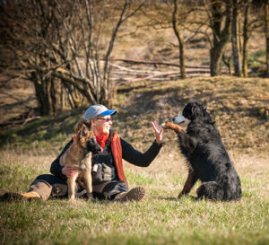 Das Leben mit Hund hat einen Mehrwert. Fotos: Privat