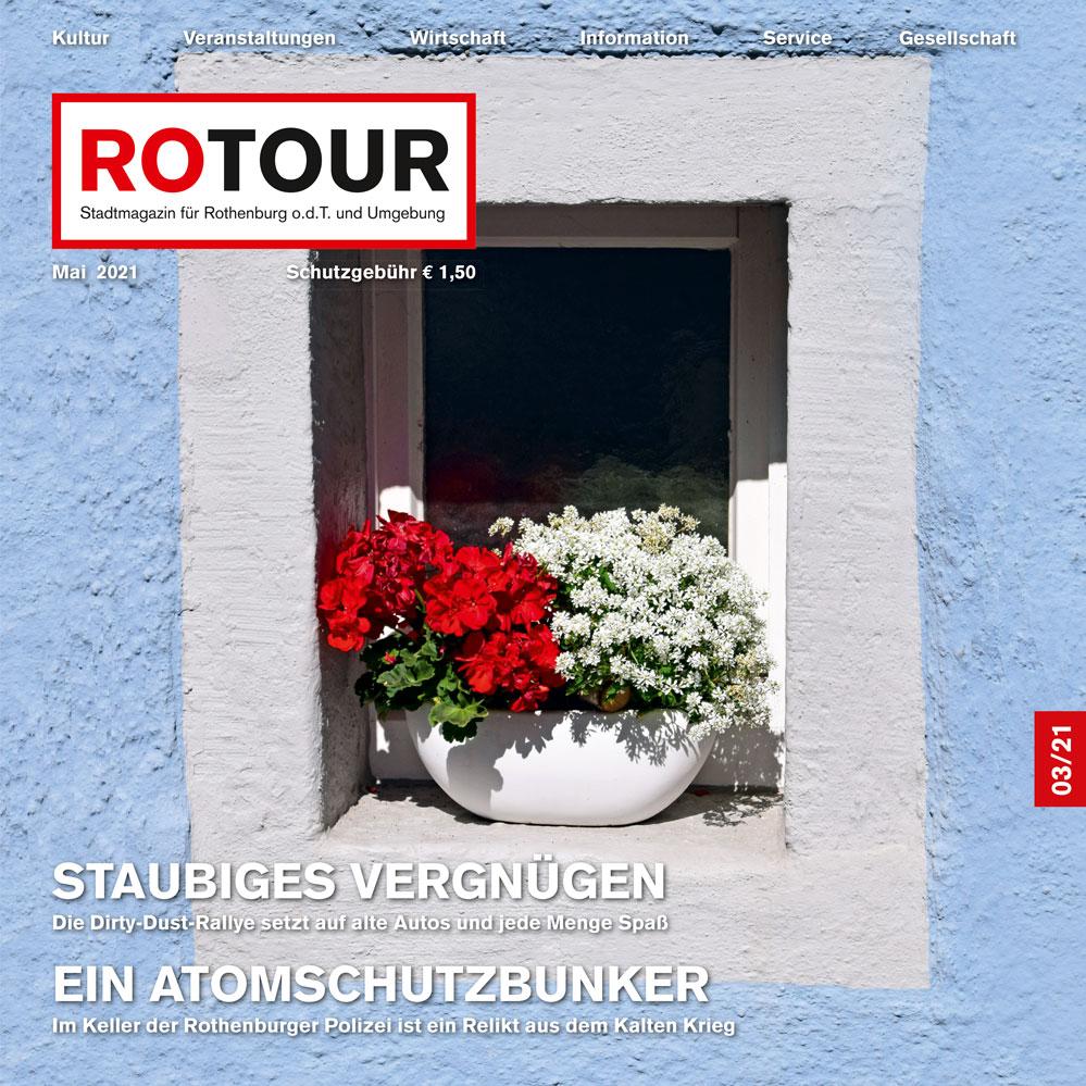 Titelbild Rotour Magazin Mai 2021