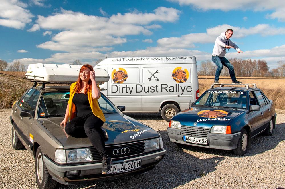 Sonja und Raimond Schopf fahren leidenschaftlich Rallyes und organisieren nun die erste eigene Tour. Fotos: Privat