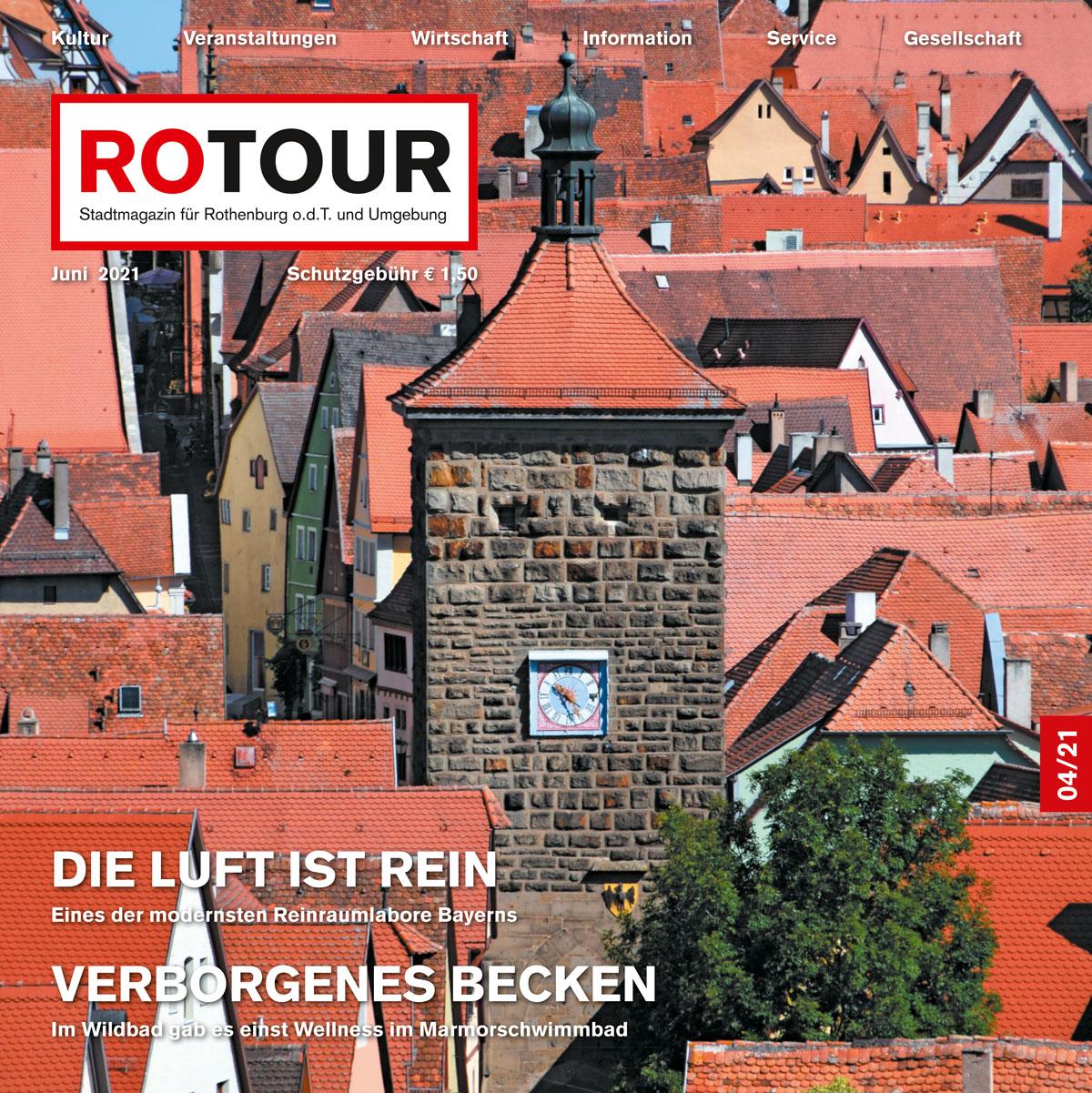 Titelbild Umschlag Rotour Juni 2021