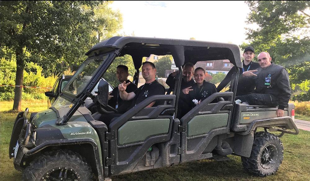Ein Team von SGB beim Einsatz auf dem Taubertal-Festival 2019. Foto: Privat