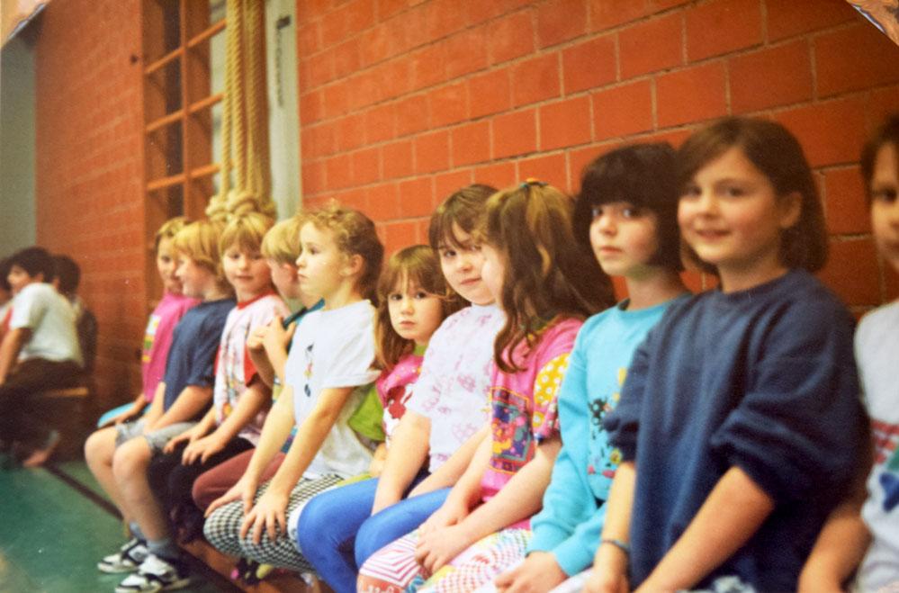 """Das Ergebnis kann sich sehen lassen. Die Kinder sitzen wie """"ne Eins"""". Foto: Privat"""