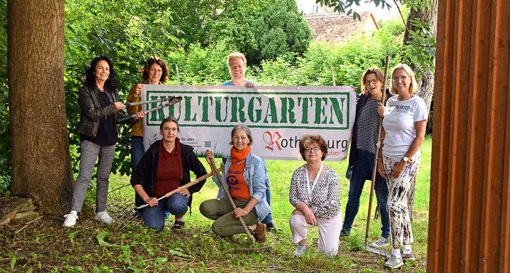 Die neue Wirkungsstätte des Kulturgartens soll am neuen Standort im Pfarrgarten der Heilig Geist Gemeinde ein Ort der Begegnung werden. Foto: ul
