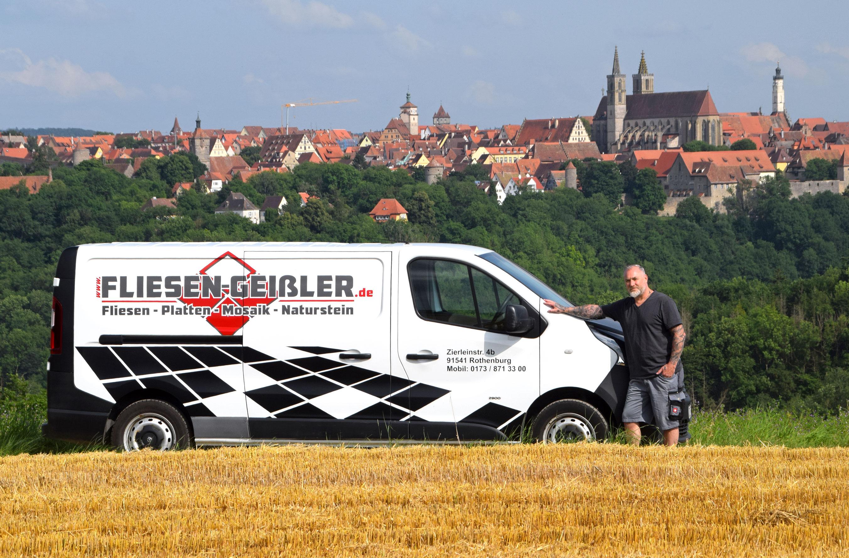 Thomas Geißler hat es gewagt und ist mit dem eigenen Fachbetrieb in die Selbstständigkeit gestartet. Foto: am
