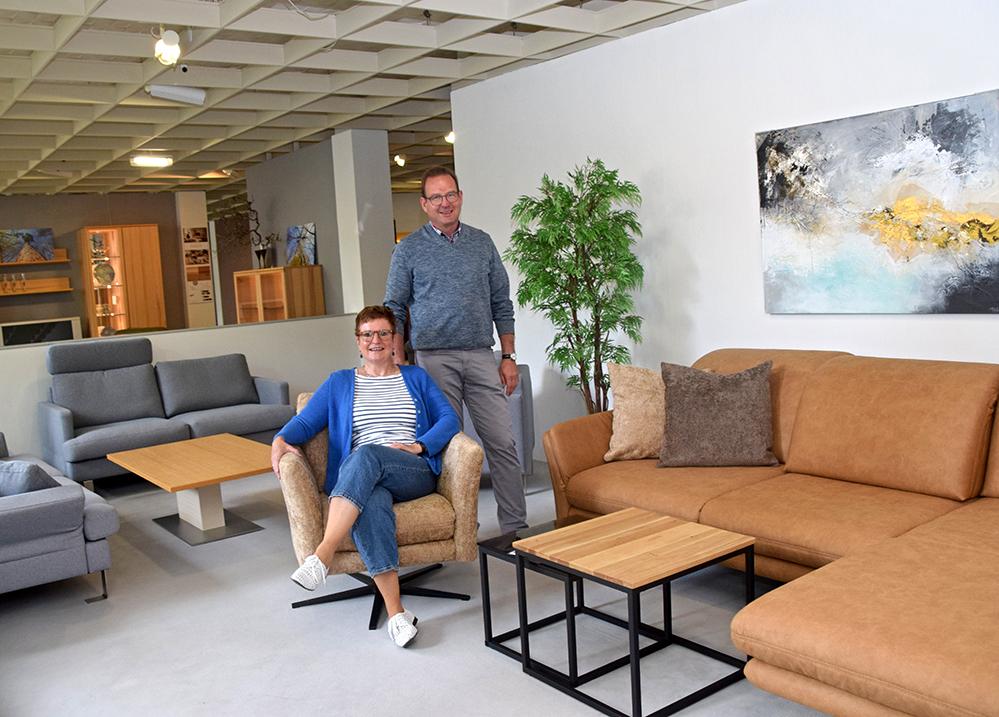 Martin und Yvonne Wagner führen das Möbelhaus in dritter Generation. Foto: am
